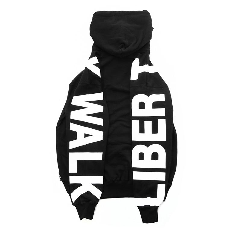 LBWK アームロゴ Big パーカー Black