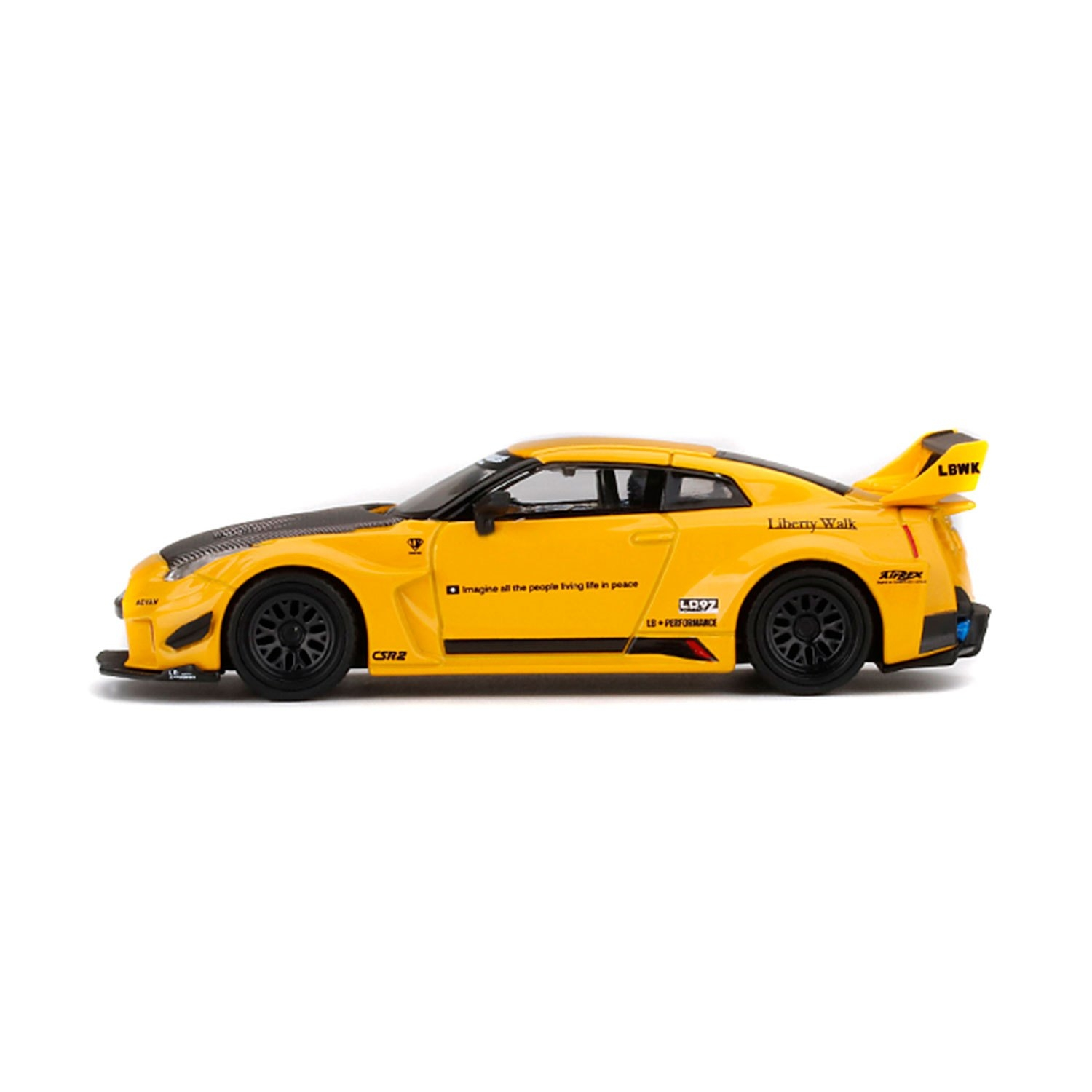 1/64 LB-SILHOUETTE WORKS GT-R YELLOW