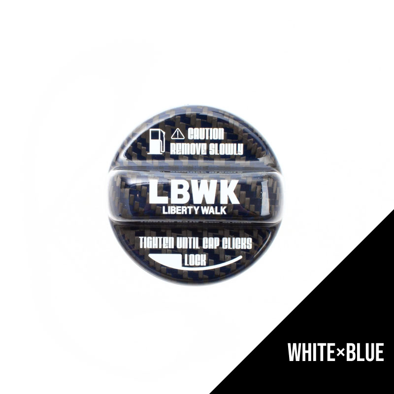 【予約】LBWK ドライカーボン製 フューエルキャップカバー NISSAN