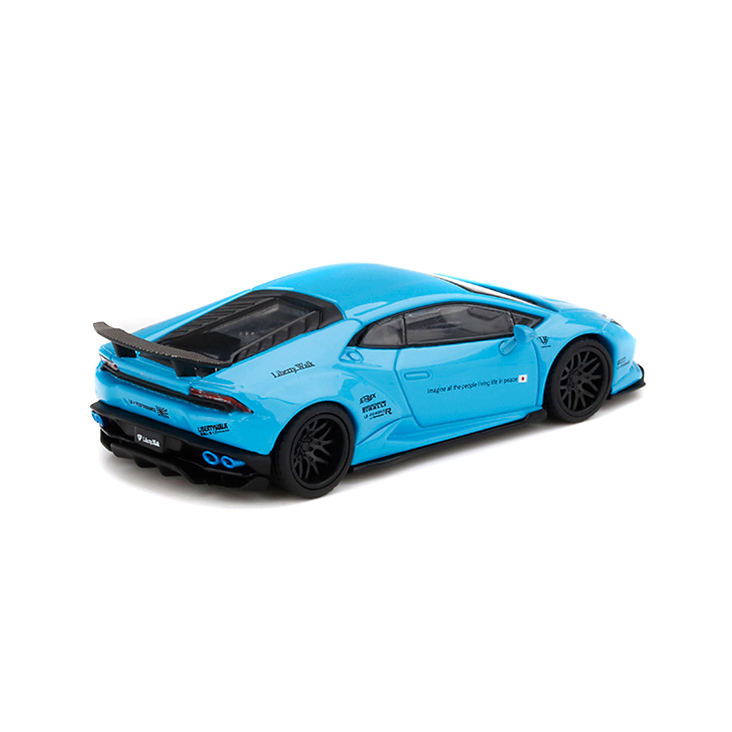 【予約】1/64 LB WORKS HURACAN LightBlue