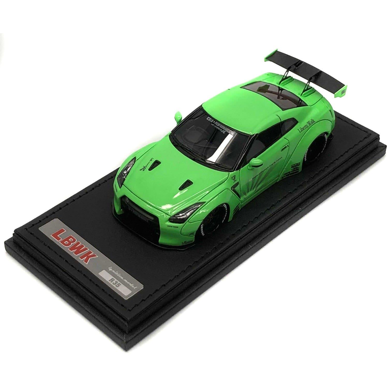 1/43 イグニッションモデル GT-R ver.1 Green