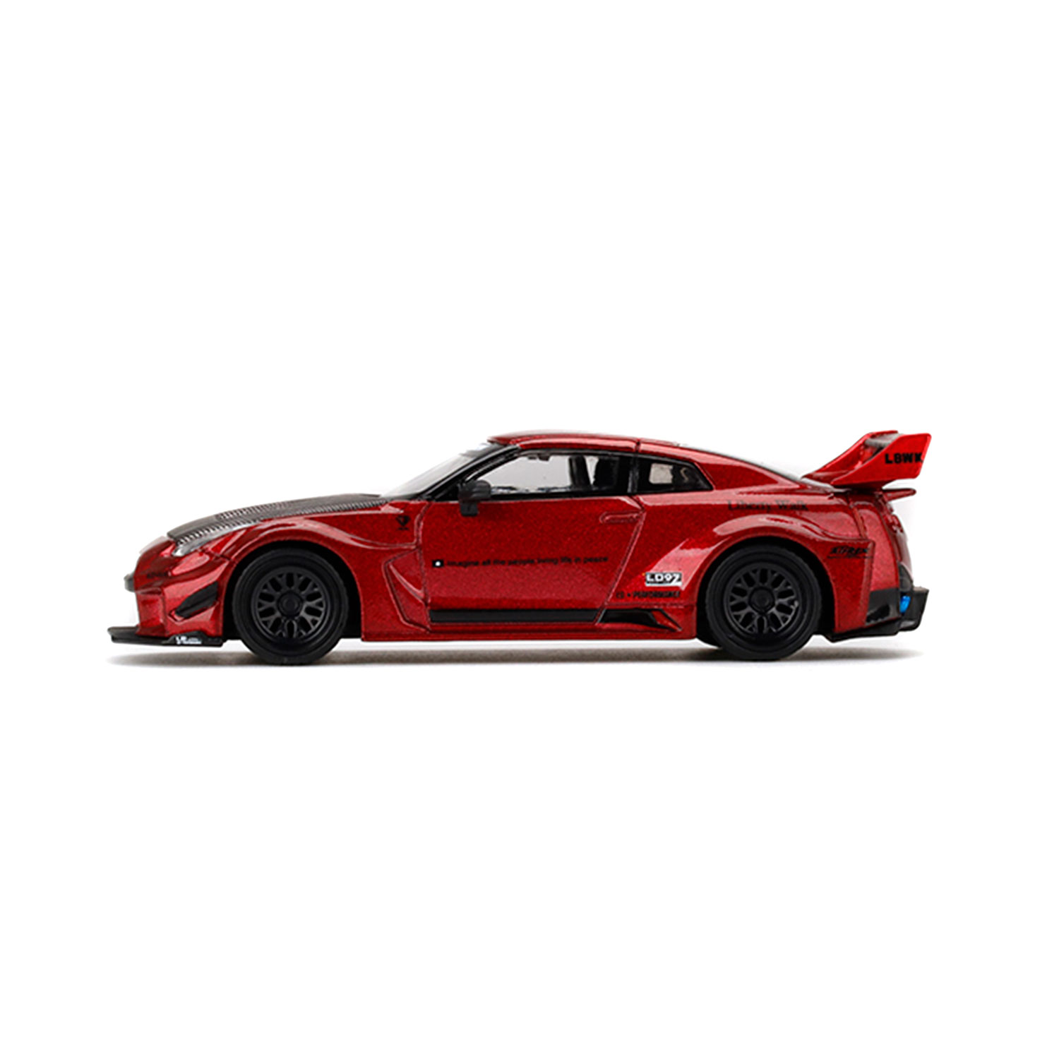1/64 LB-Silhouette WORKS GT NISSAN 35GT-RR Ver.1 Lava Red