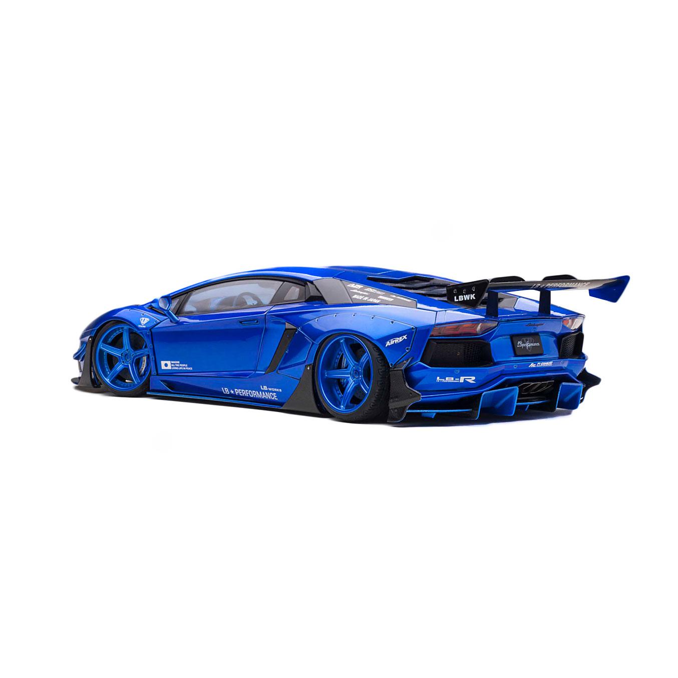 【予約】1/18Auto Art LB-WORKS Aventador LIMITED EDITION HyperBlue