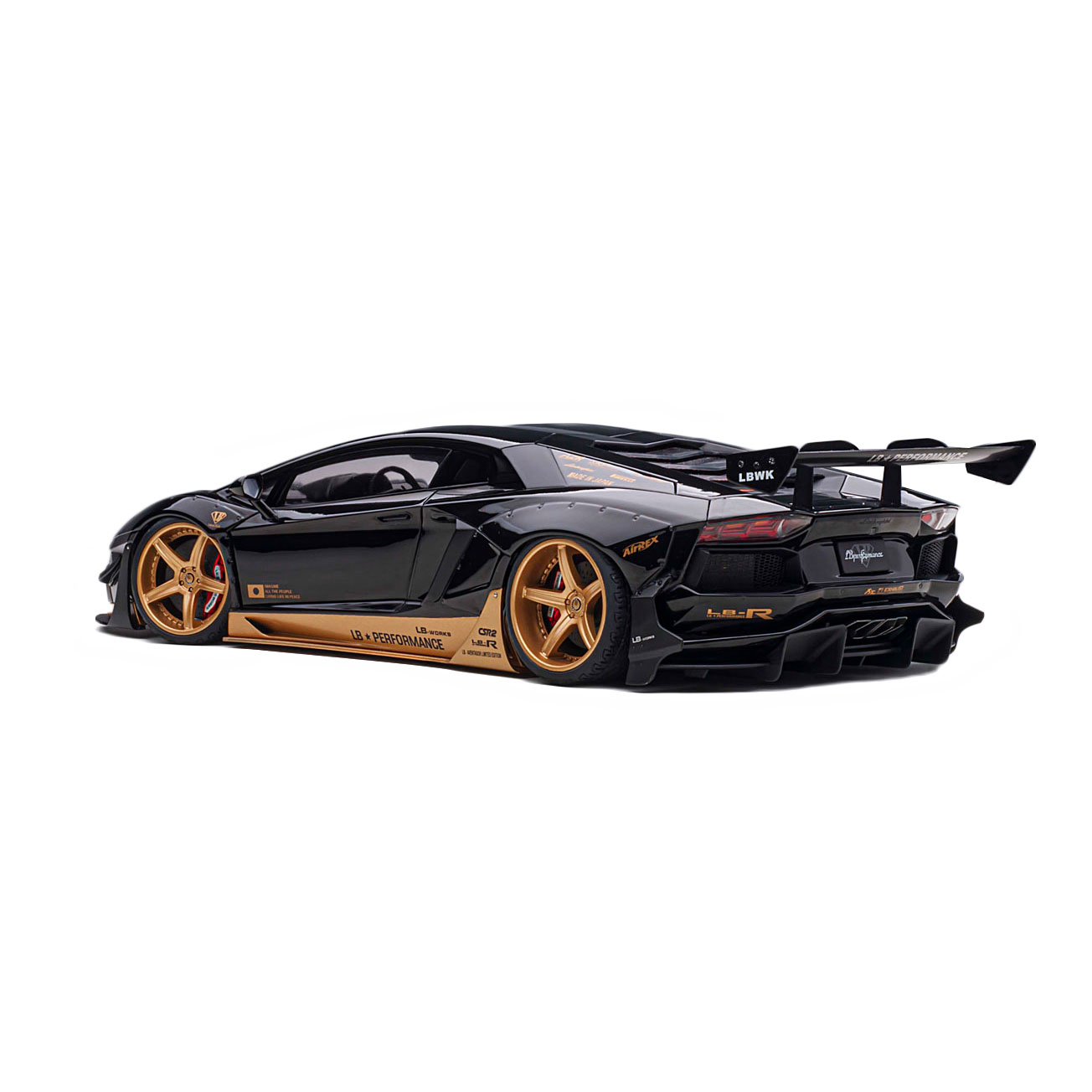 【予約】1/18Auto Art LB-WORKS Aventador LIMITED EDITION BlackGold