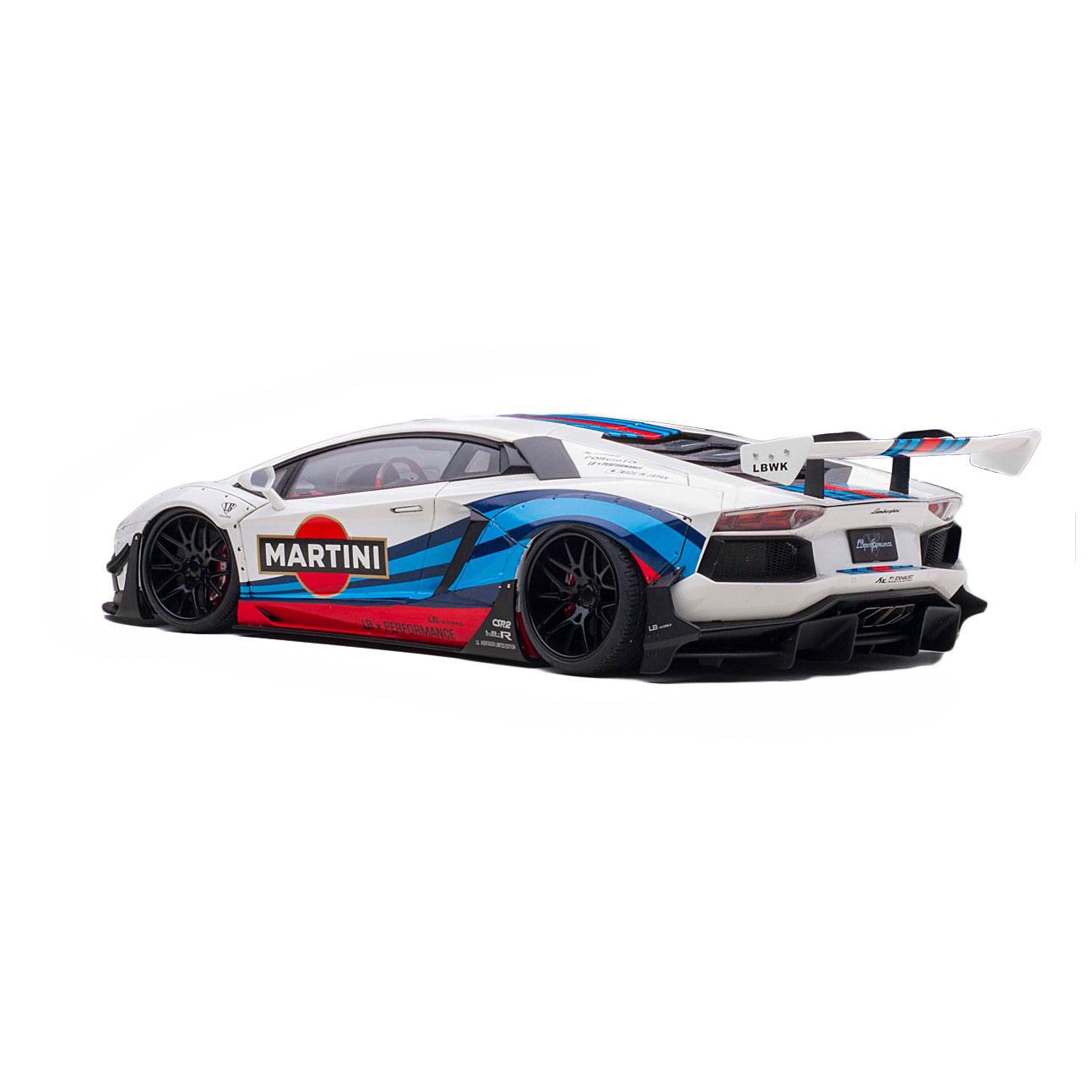 【予約】1/18Auto Art LB-WORKS Aventador LIMITED EDITION MARTINI