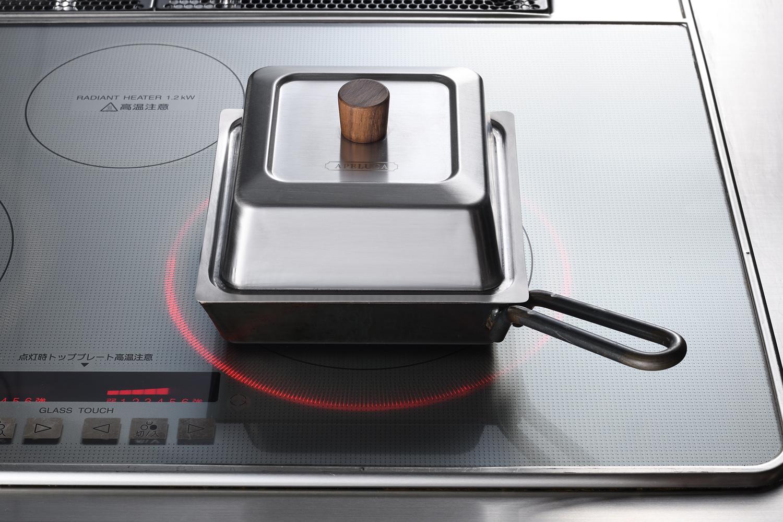APELUCA COMPACT DEEP PAN  APS7005 鍋・フライパン\アペルカ