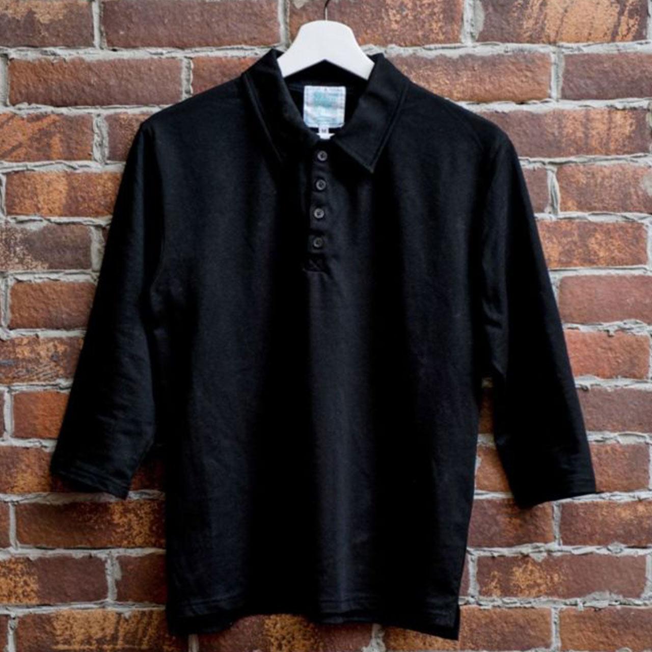 ポロシャツ7分袖