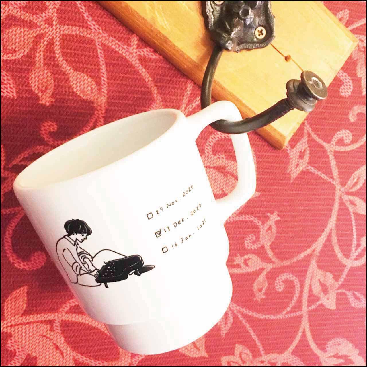 【受注販売】ひとりあそびなつこのスタッキングマグカップ