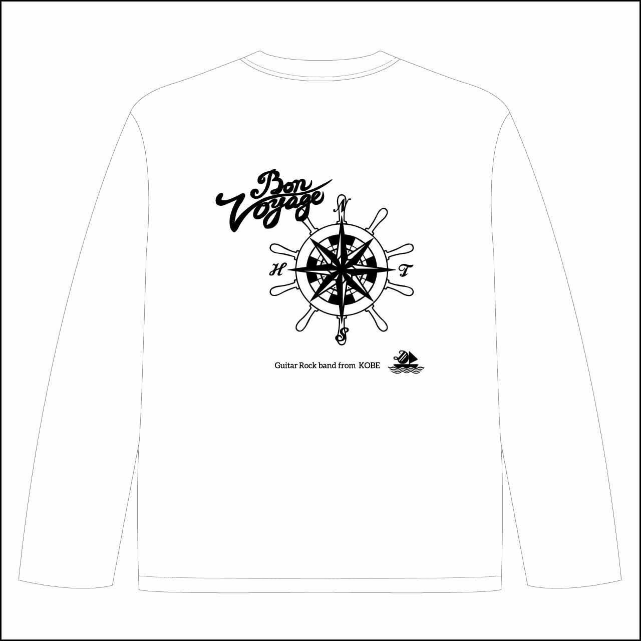 set sail ロングスリーブTシャツ