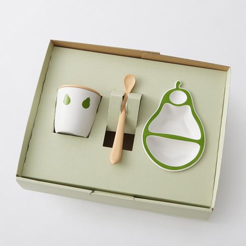 日本製笹配合のバイオマスプラスチック  離乳食ベビー食器ファーストセット   Pappa パッパ   PERA   ペーラ  月齢5ヶ月から