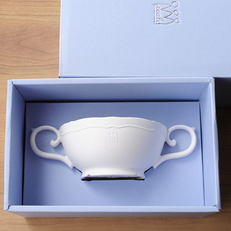 【日本製竹配合プラスチック・ベビー・キッズ食器】 Reale レアーレシリーズ ポタジェ・スープカップ
