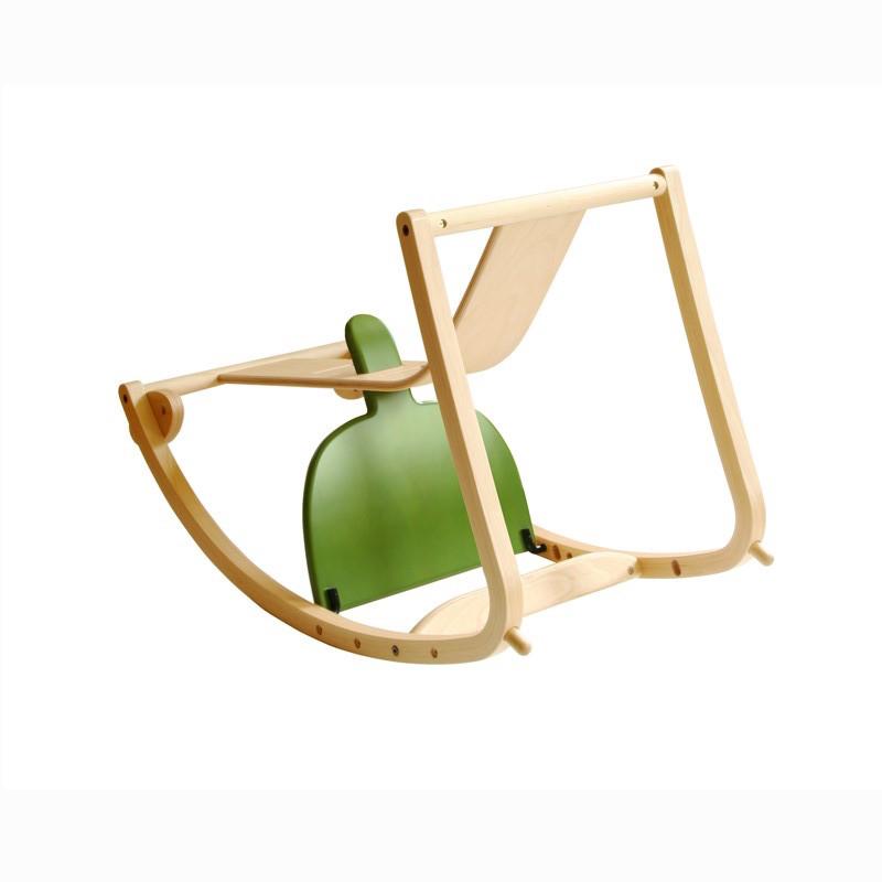 【木馬になる木製ベビー・キッズハイチェア】 日本製 New Bambini(バンビーニ) High chair STC-01 [座面4色][ベビーガード無し][Sdi Fantasia] [Made in Japan]