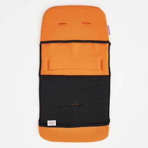 knuma connect ハイチェア専用クッション オレンジ 正規輸入品