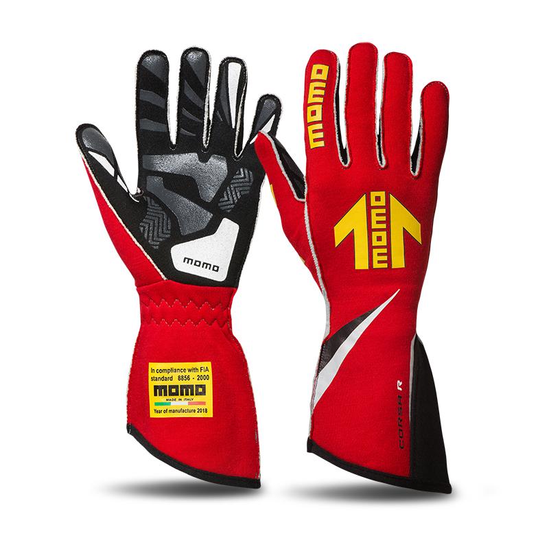 【NEW】MOMO ARROW レーシンググローブ CORSA R 【FIA公認】