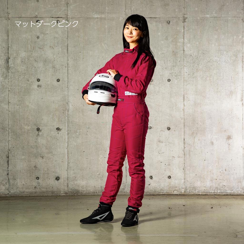 [在庫あり]LE-530V レディース レーシングカートスーツ【即納】