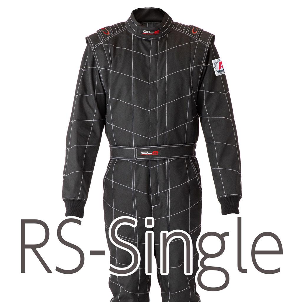 [在庫あり]RSシングル 既製 ブラック【ノーメックス】