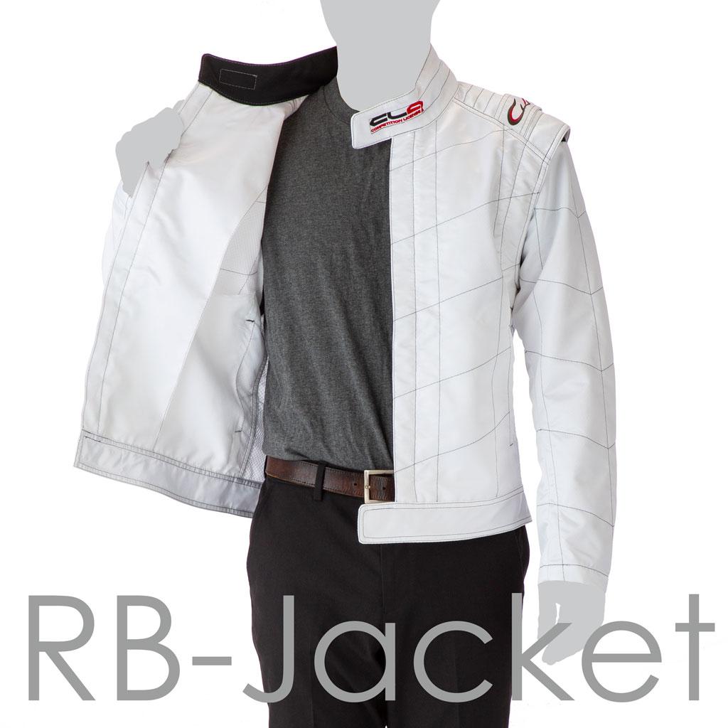 [即納]RB-ジャケット ホワイト Lサイズ