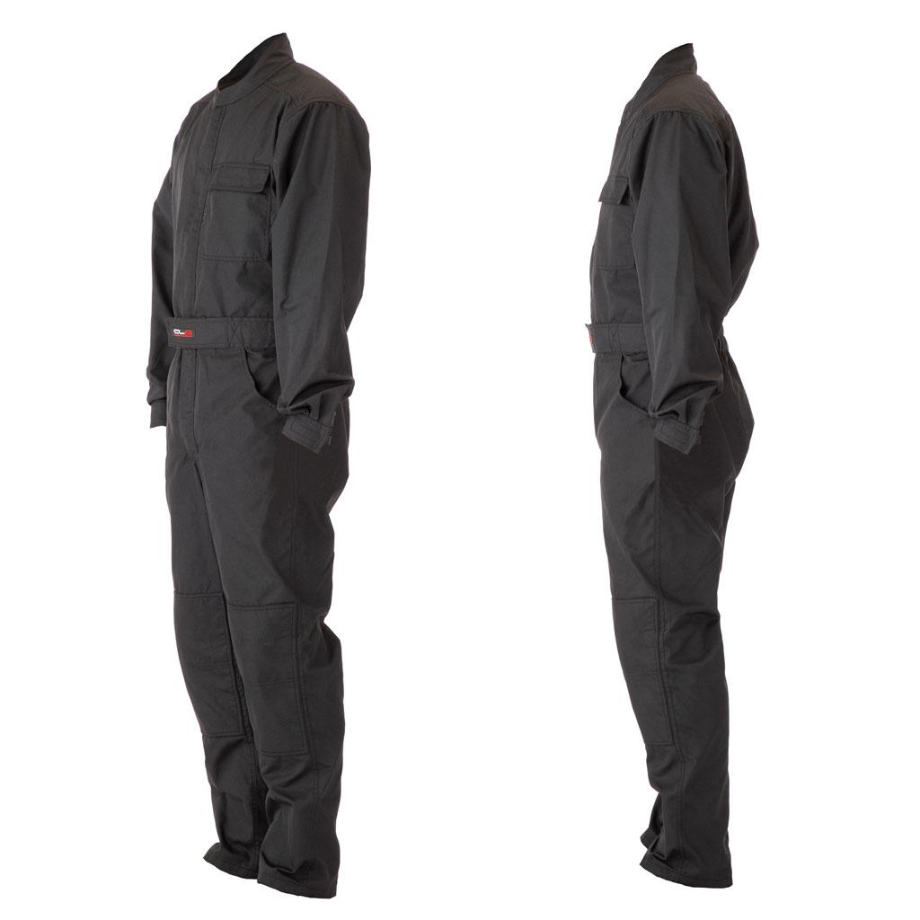 [在庫あり]NOMEX®製 メカニックスーツ ブラック 2Lサイズ