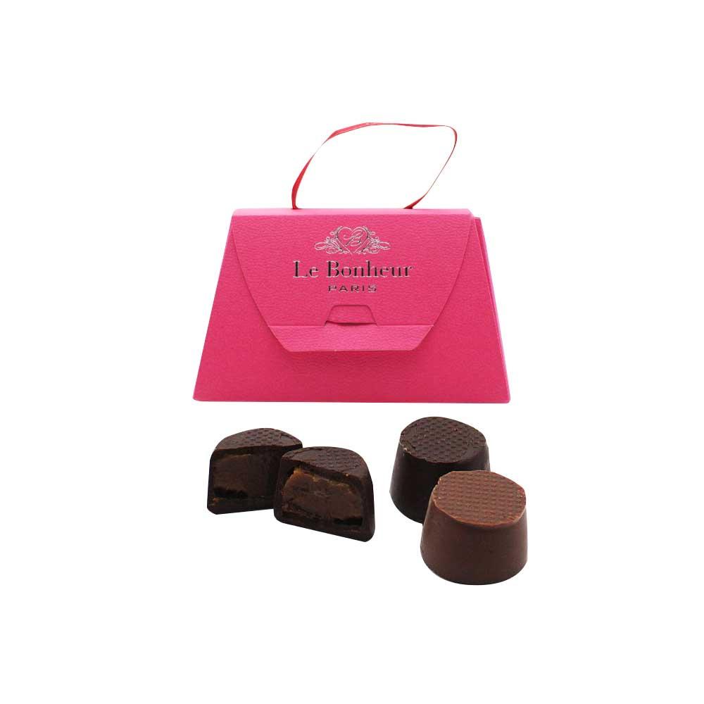 キャラッセルチョコレート 3粒(ビター2粒、ミルク1粒)