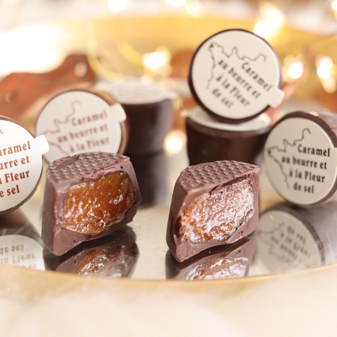 わんにゃん支援 キャラッセルチョコレート 6粒