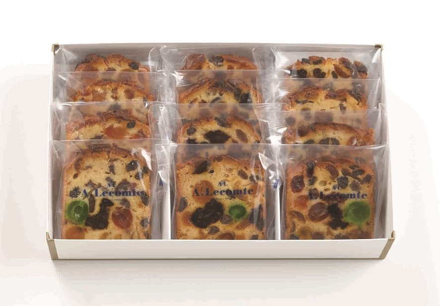 フルーツケーキ カット(12枚入)