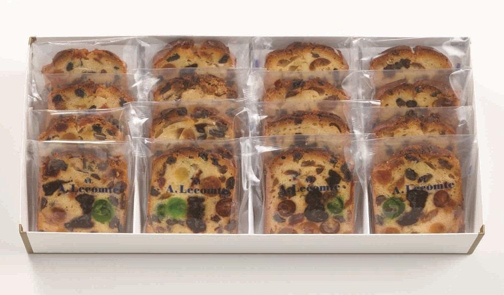 フルーツケーキ カット(16枚入)