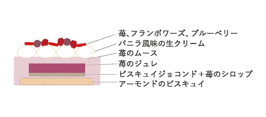 【クリスマス】ムース オ フレーズ(アントルメ)
