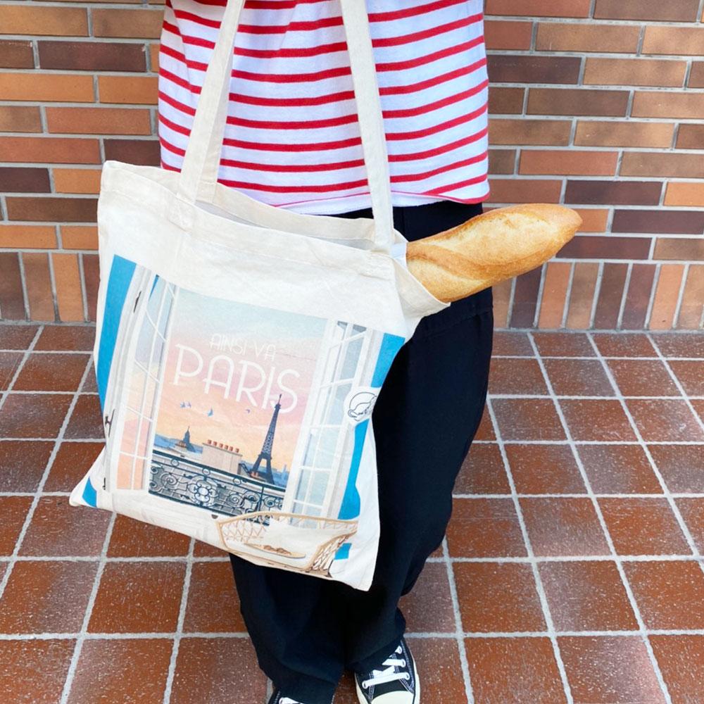 ラ・ルートュル 旅するトートバッグ★リヨン