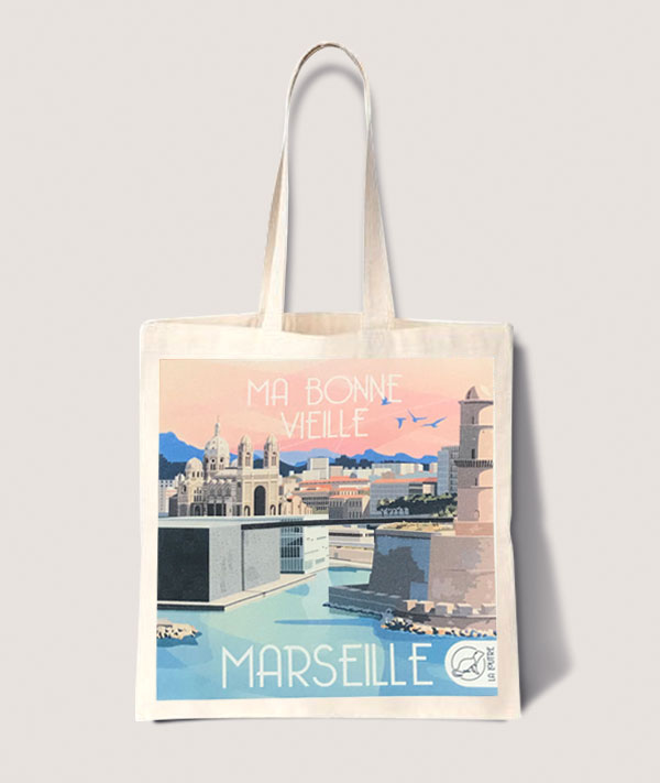 ラ・ルートュル 旅するトートバッグ★マルセイユ