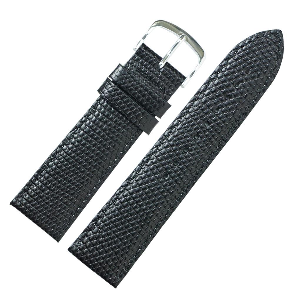 24mm 腕時計ベルト ロワール 牛革リザード型押し フランス製