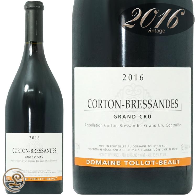 2016 コルトン ブレッサンド グラン クリュ トロ ボー 正規品 赤ワイン 辛口 750ml Tollot Beaut Corton Bressandes Grand Cru