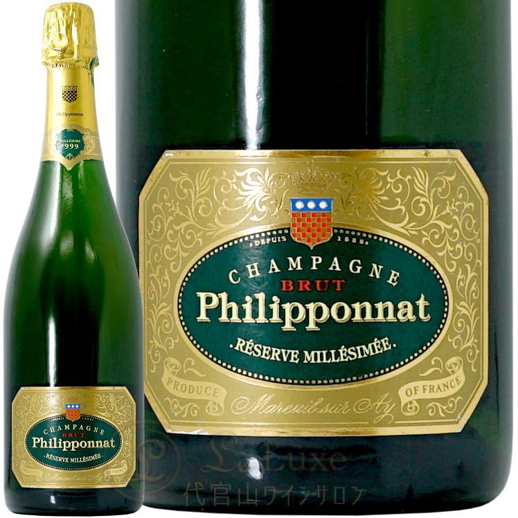 1999 レゼルヴ スペシャル ミレジメ デゴルジュマン 2007 Philipponat Reserve Special Millesime 1999 degorgement 2007