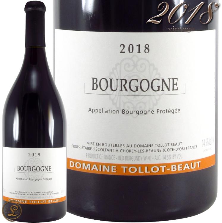 2018 ブルゴーニュ ルージュ トロ ボー 正規品 赤ワイン 辛口 750ml Tollot Beaut Bourgogne Rouge