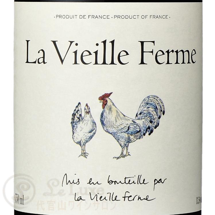 1ケース 12本入特価  2018 ラ ヴィエイユ フェルム ルージュ ファミーユ ペラン 正規品 赤ワイン 辛口 750ml Famille Perrin  La Vieille Ferme Rouge