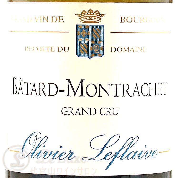 2018 バタール モンラッシェ グラン クリュ オリヴィエ ルフレーヴ 正規品 白ワイン 辛口 750ml Olivier Leflaive Batard Montrachet Grand Cru