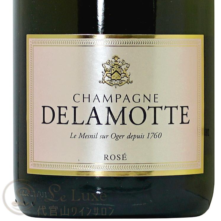 NV ロゼ ブリュット ドゥラモット シャンパン 正規品 辛口 ROSE 750ml  Champagne Delamotte Brut Rose