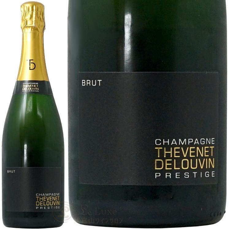 NV ブリュット プレスティージュ シャンパーニュ テヴネ ドルーヴァン 正規品 シャンパン 辛口 白 750ml Thevenet Delouvin Brut Prestige