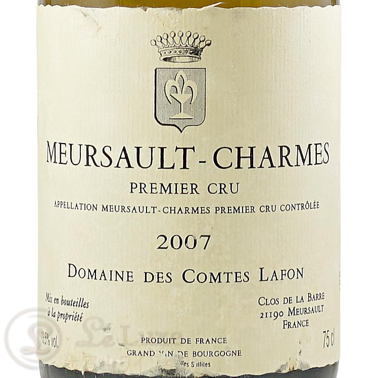 2007 ムルソー プルミエ クリュ シャルム ドメーヌ コント ラフォン 白ワイン 辛口 ビオディナミ 750ml Domaine des Comtes Lafon Meursault Charmes 1er Cru