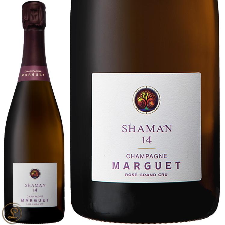 NV シャーマン 16 ロゼ エクストラ ブリュット マルゲ グラン クリュ 正規品 シャンパン 辛口 ROSE 750ml Marguet Extra Brut Shaman 16 Rose Grand Cru