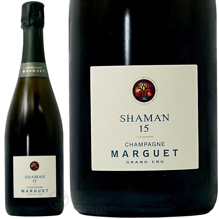 NV 16 シャーマン グラン クリュ エクストラ ブリュット マルゲ 正規品 シャンパン 辛口 白 750ml Marguet Shaman 16 Extra Brut Grand Cru