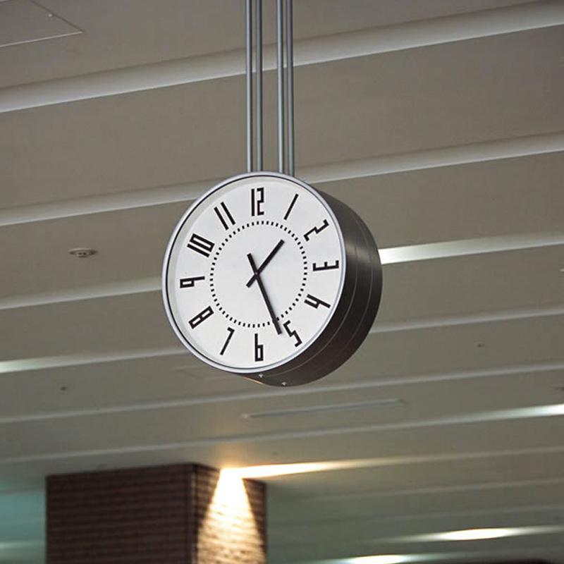 eki clock / ブラック (TIL16-01 BK)
