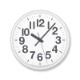 ナンバーの時計[電波時計]/  ホワイト (YK18-10 WH)