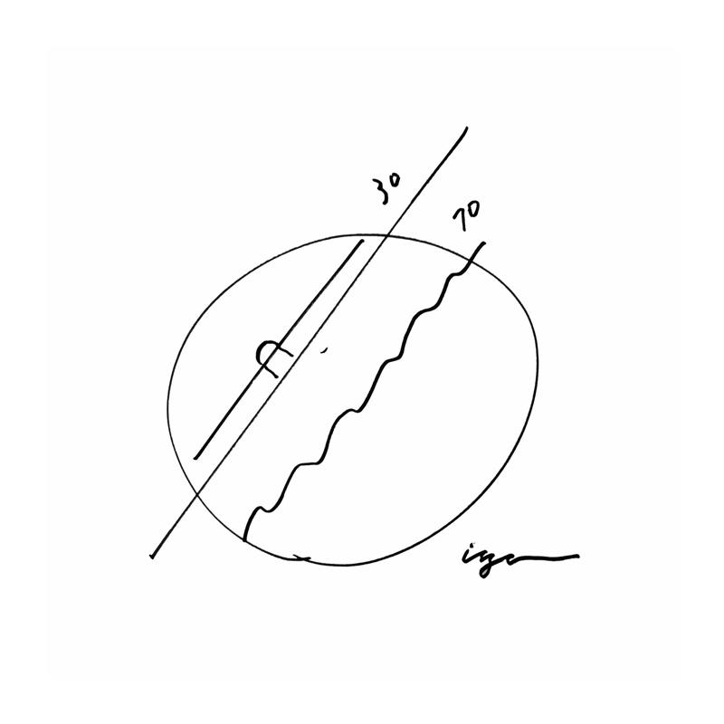 earth clock / ブラック (TIL16-10 BK)