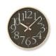 AY clock RC[電波時計]/ ブラウン (AY14-10 BW)