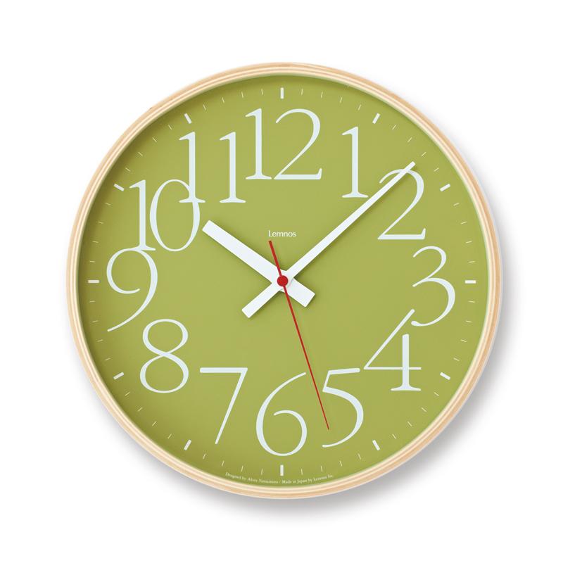 AY clock RC[電波時計]/ グリーン(AY14-10 GN)