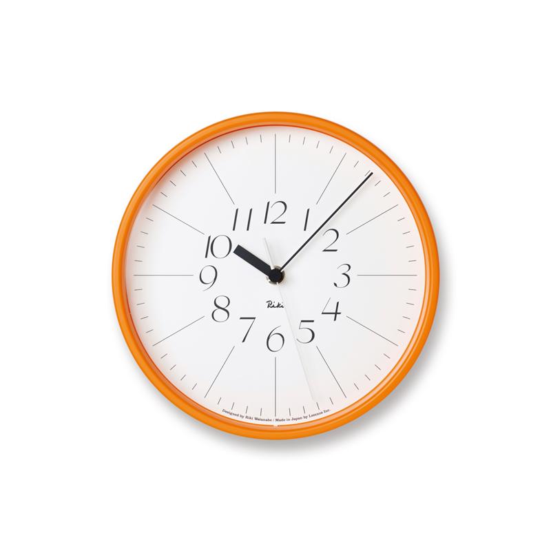 RIKI STEEL CLOCK / オレンジ (WR17-11 OR)