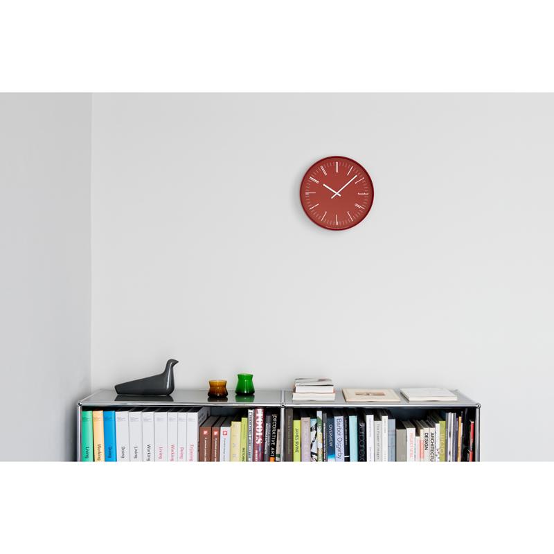 Draw wall clock / レッド (KK18-13 RE)