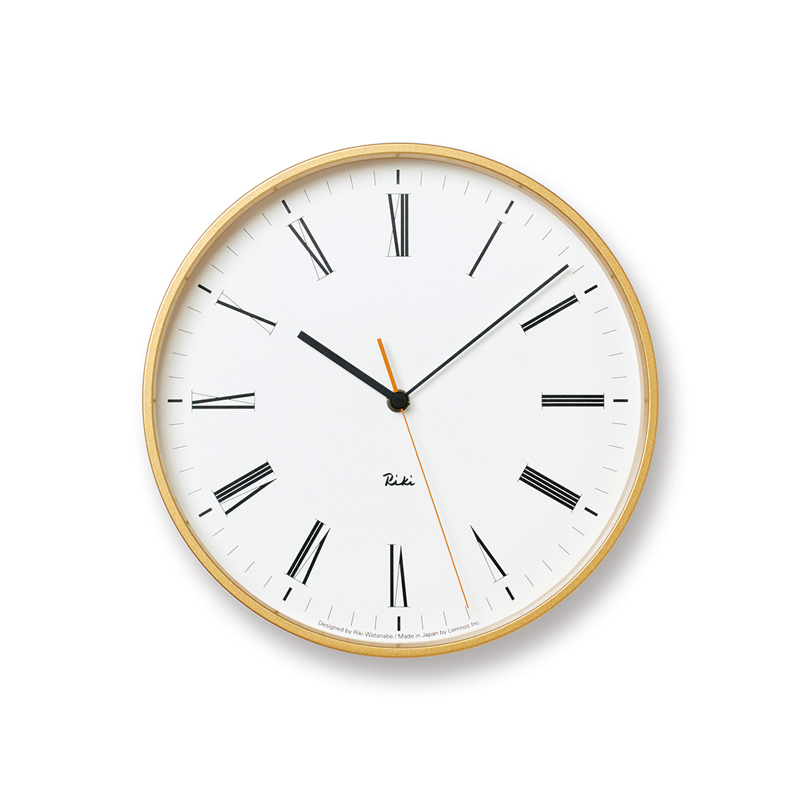 RIKI ROMAN CLOCK /(WR17-12)