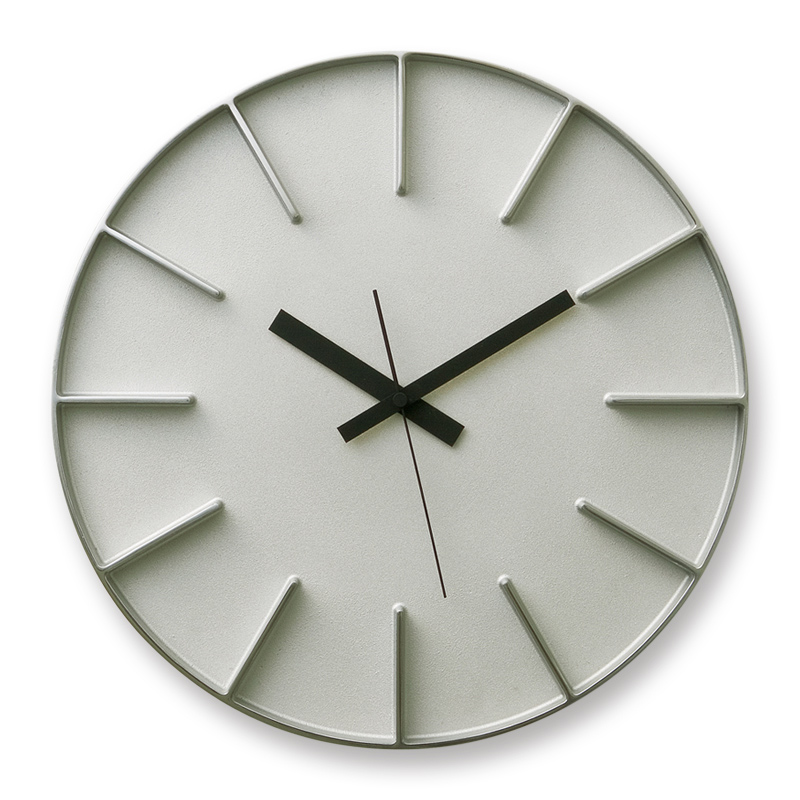 Edge Clock / アルミニウム (AZ-0115 AL)