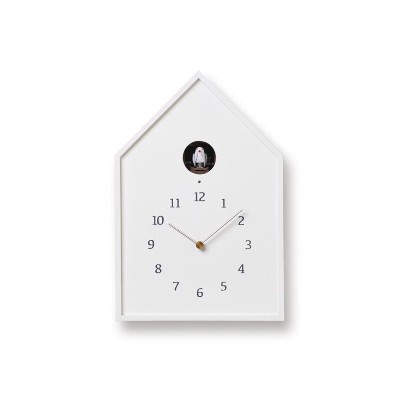 Birdhouse Clock / ホワイト (NY16-12 WH)